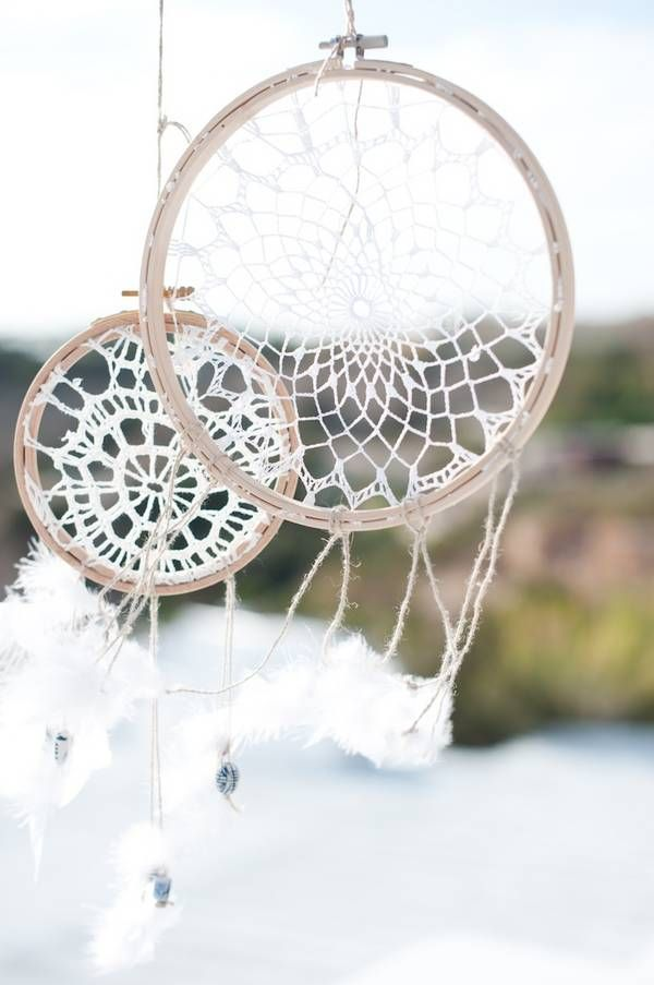 handmade Ibiza wedding dreamcatchers by ibiza magic ++ CustomMade ++
