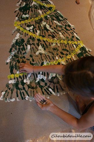 Deco de noel fabriquer par les enfants ciloubidouille - Decoration de noel a fabriquer ...