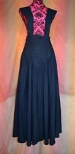 ladies sz 14 16 droopy browns angela holmes pinafore maxi skirt dress victorian