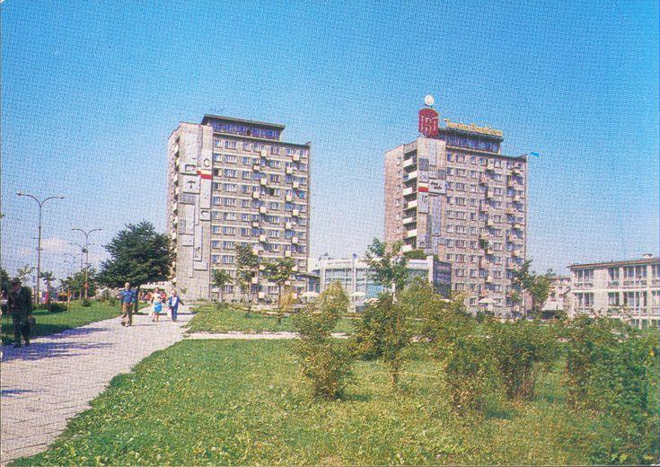 Białystok '70s Aleja 1 Maja fot. A. Johann i A. Zborski