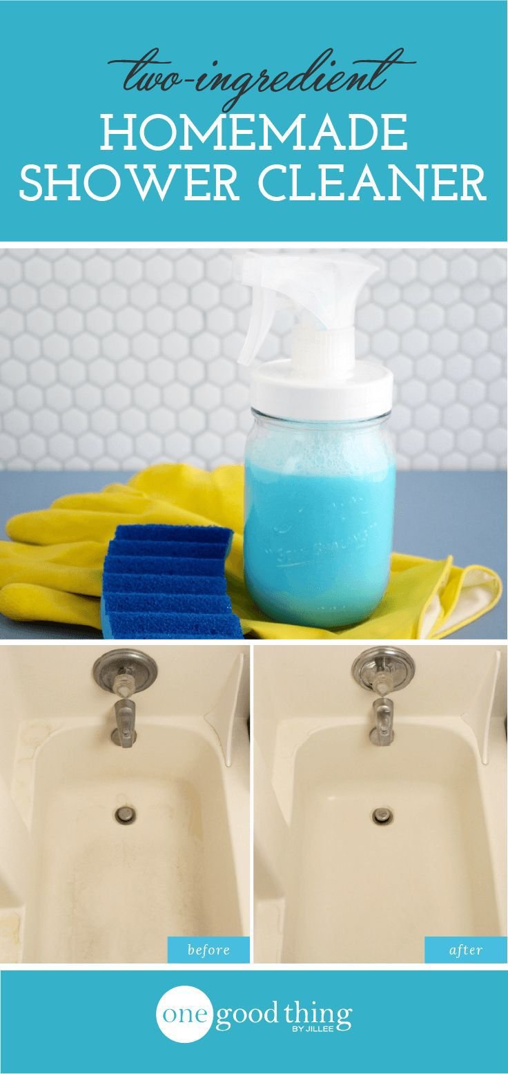 1000 Ideas About Homemade Shower Cleaner On Pinterest Shower Cleaning Shower Cleaner And