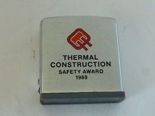 Zippo Canada Tape Rule. Thermal Construction 1989
