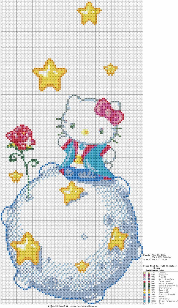 _ Pouco Padrão Príncipe Kitty Cross Stitch: Naver Blog