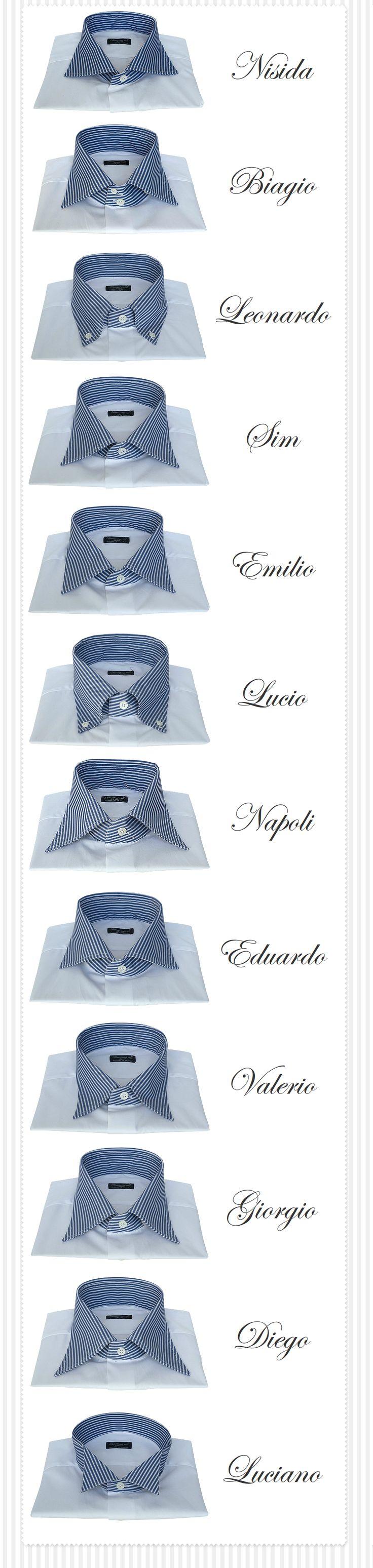 Finamore - Su Misura Camicie Modelli Collo
