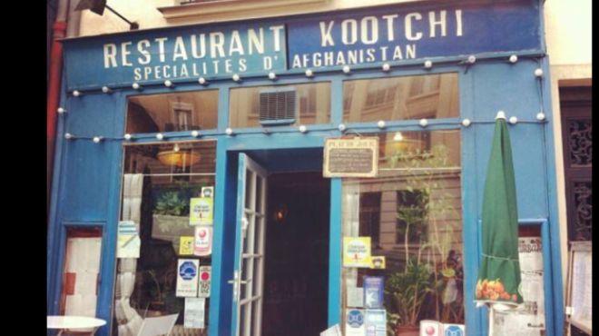Kootchi, Paris - Afghan restaurant with veggie options