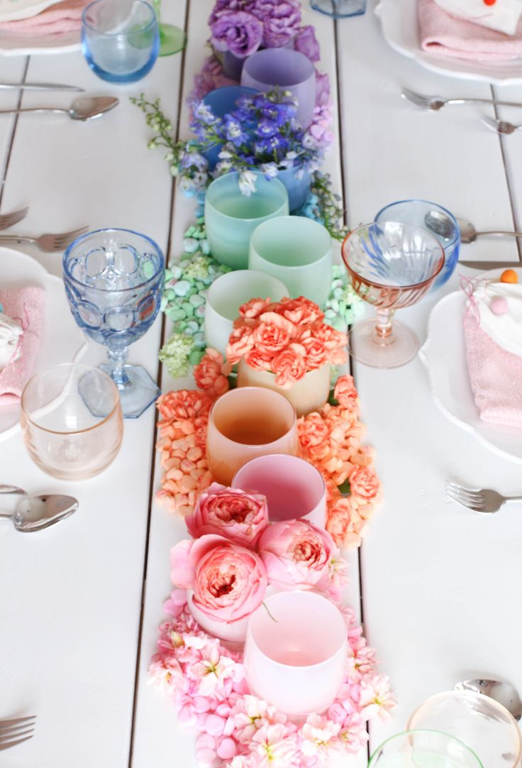 HOW TO CREATE A VALENTINE'S PARTY WITH GLASSYBABY | #valentinesday  #tablesetting