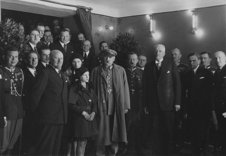 Józef Piłsudski i Ignacy Mościcki w Kinie Atlantic (1931) #kinoatlantic #pilsudski