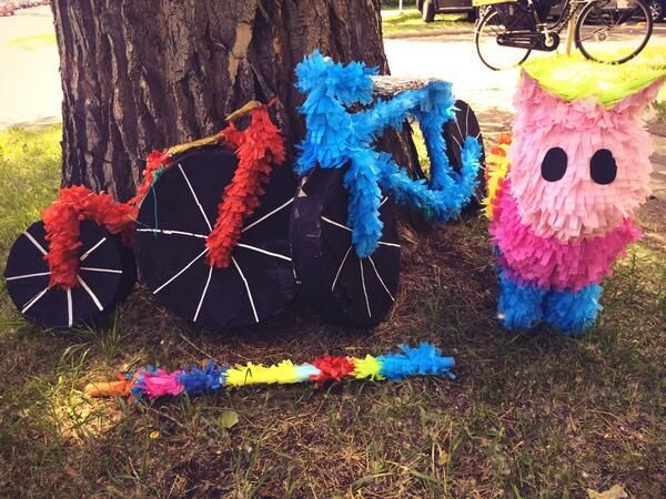 Cyclepalooza Pinata Ride 2014