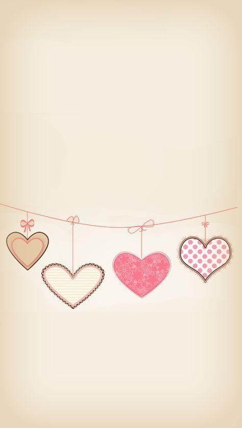 Corações pendurados no varal, para nosso amor não mofar...!