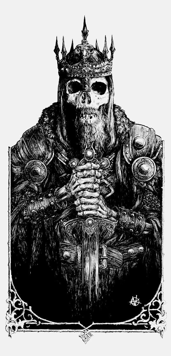 Would be amazing to have this or something similar (more Viking, less LOTR) on my entire back