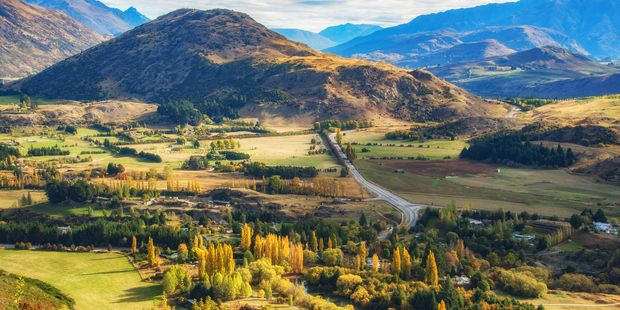 Historic gold mining town Arrowtown. Photo / Getty Images
