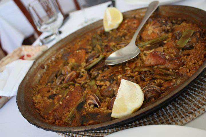 #paella en #Moraira