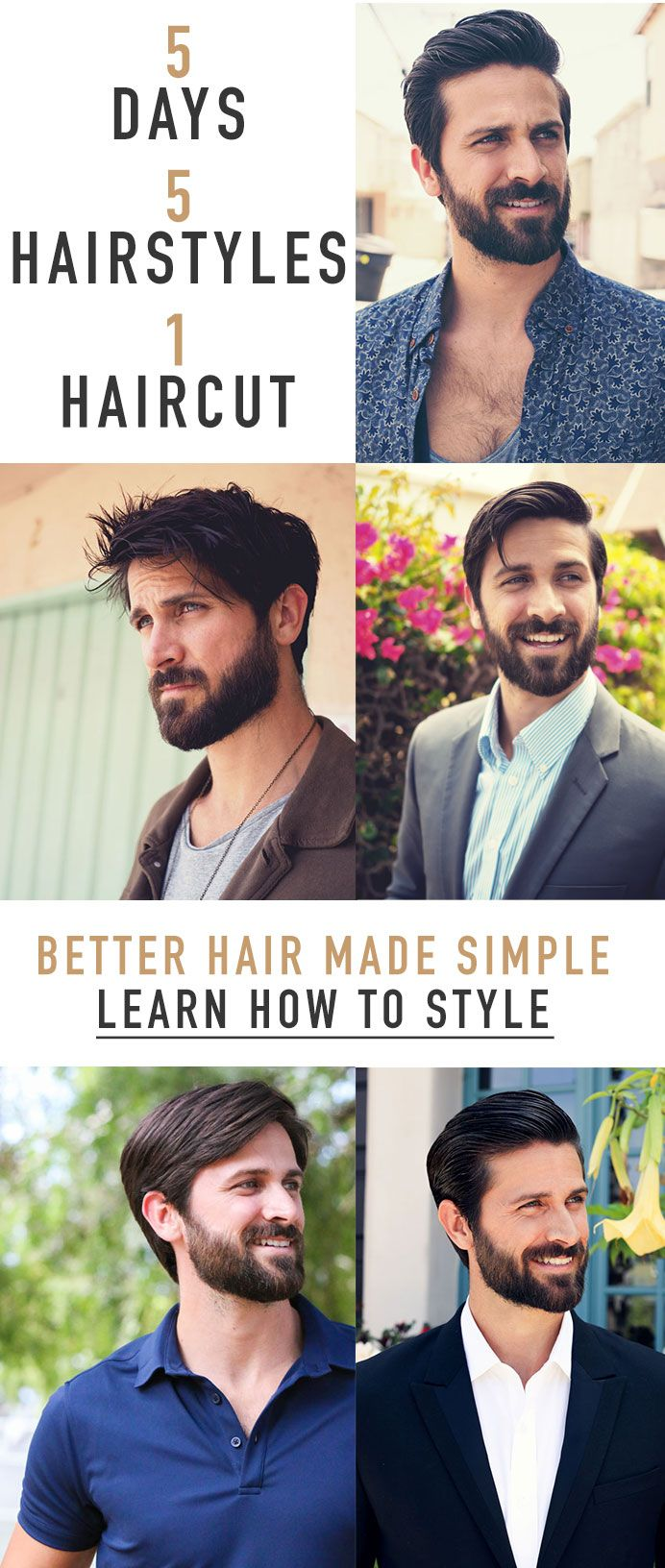 5 Days, 5 Hairstyles, 1 Haircut – We'll Present You Learn how to Have Higher Hair, On a regular basis
