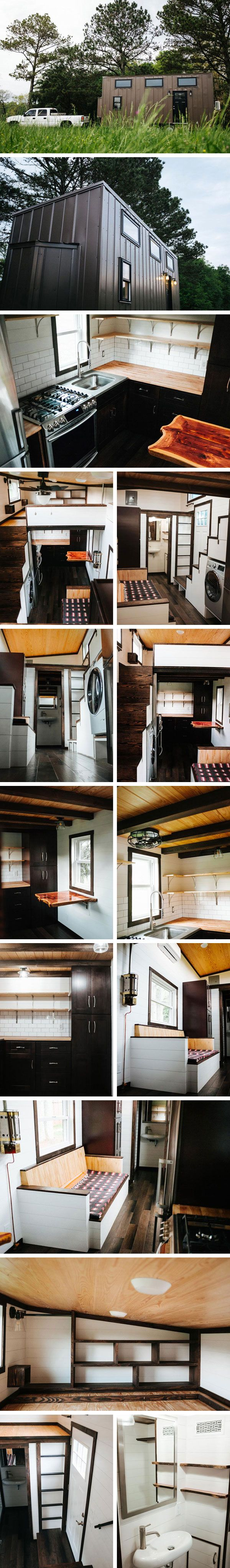 Дом на колесах Ironclad by Wind River Tiny Homes #tinyhomesdigest #tinyhouse #houseonwheels #camper