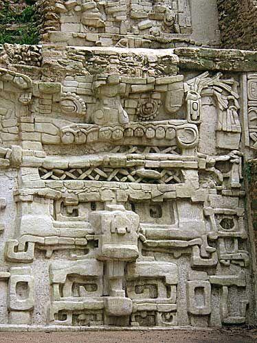 Lubaantun Maya ruinas en Belice