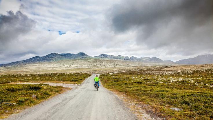 Cyklig in Rondane II - null