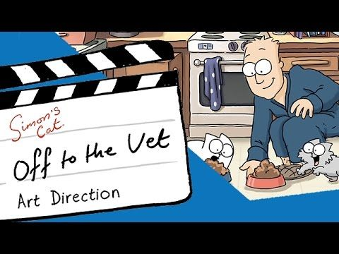 Art Direction 'Off to the Vet' - Simon's Cat - YouTube