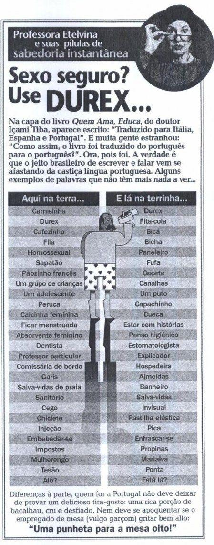 Diferenças entre Brasil e Portugal
