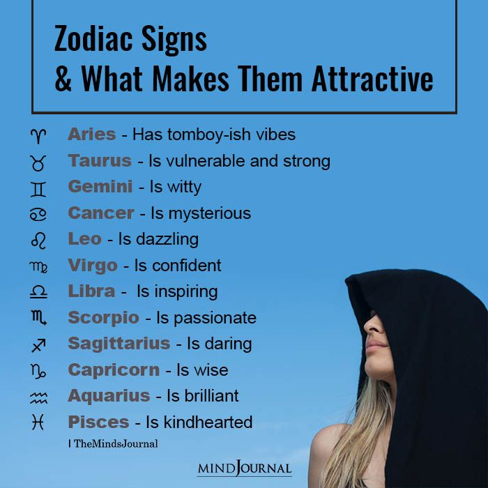 Zodiac Signs And What Makes Them Attractive | Zodiac sign