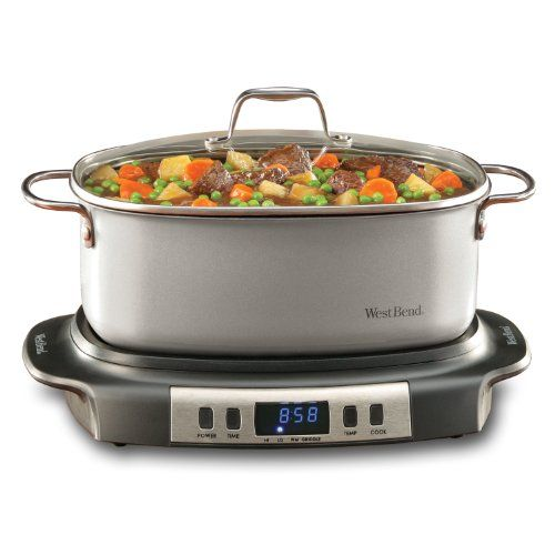 West Bend 84966 Versatility Oval-Shaped 6-Quart Programmable Slow Cooker // http://cookersreview.us/product/west-bend-84966-versatility-oval-shaped-6-quart-programmable-slow-cooker/  #cooker #pressure #electric