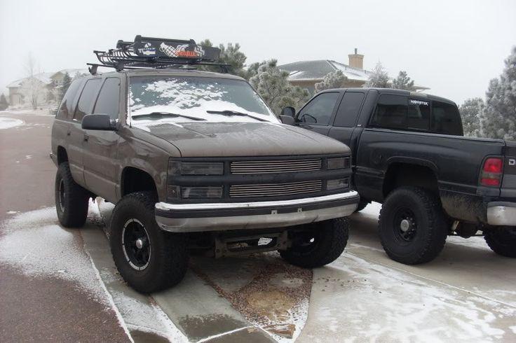 √ Chevy Tahoe Roof Rack | 2015 Chevrolet Tahoe Thule Black