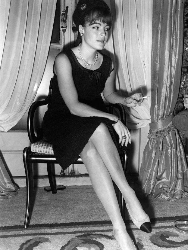 ロミー・シュナイダー(Romy Schneider)の「シャネル」シューズ(1962年)