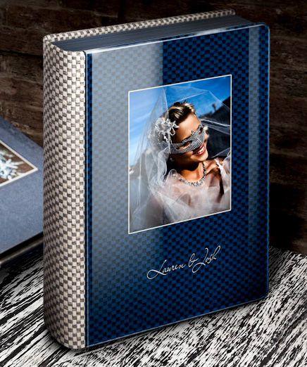 The Original Wedding Book | Crystal Glance cover | Handmade in Italy #graphistudio #weddingbook #weddingphotography #originalweddingbook
