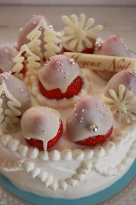 「ホワイトチョコガナッシュ」マルマル | お菓子・パンのレシピや作り方【corecle*コレクル】