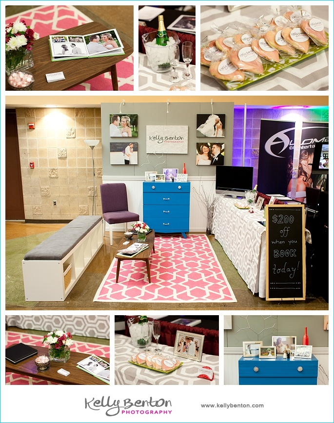 Bridal Show Booth :: Kelly Benton Photography www.kellybenton.com