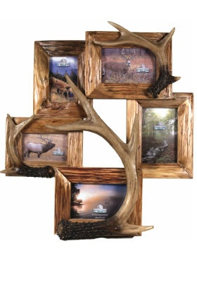 Cabelas Canada - Home & Cottage - Photo Frames & Albums - River's Edge 5-Picture Photo Frame