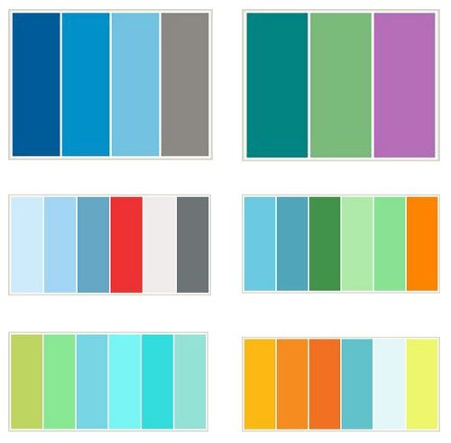 Best 25 blue color combinations best 25 2 color Best two color combinations