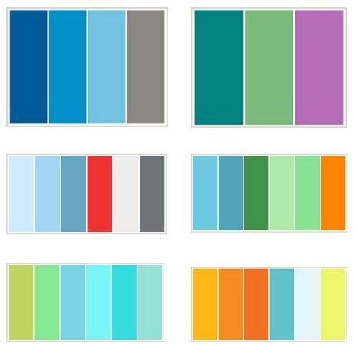 10 best Color Combinations images on Pinterest