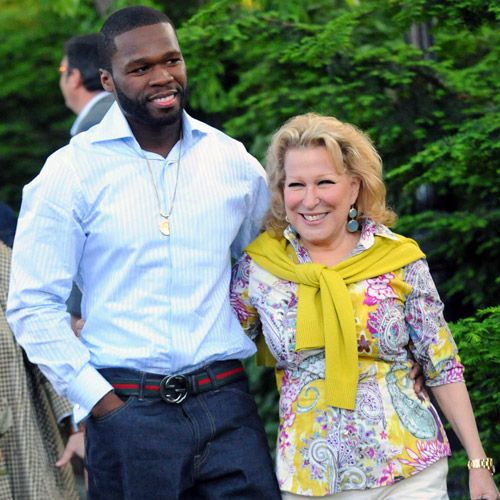 List of Celebrity BFFs Never would have guessed 50 Cent and Bette Midler even knew each other.
