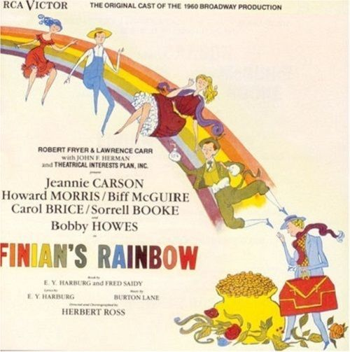 Finian's Rainbow -1960 Broadway Revival Cast - Music CD 1988 BMG/RCA/Showcase #MusicalOriginalCast