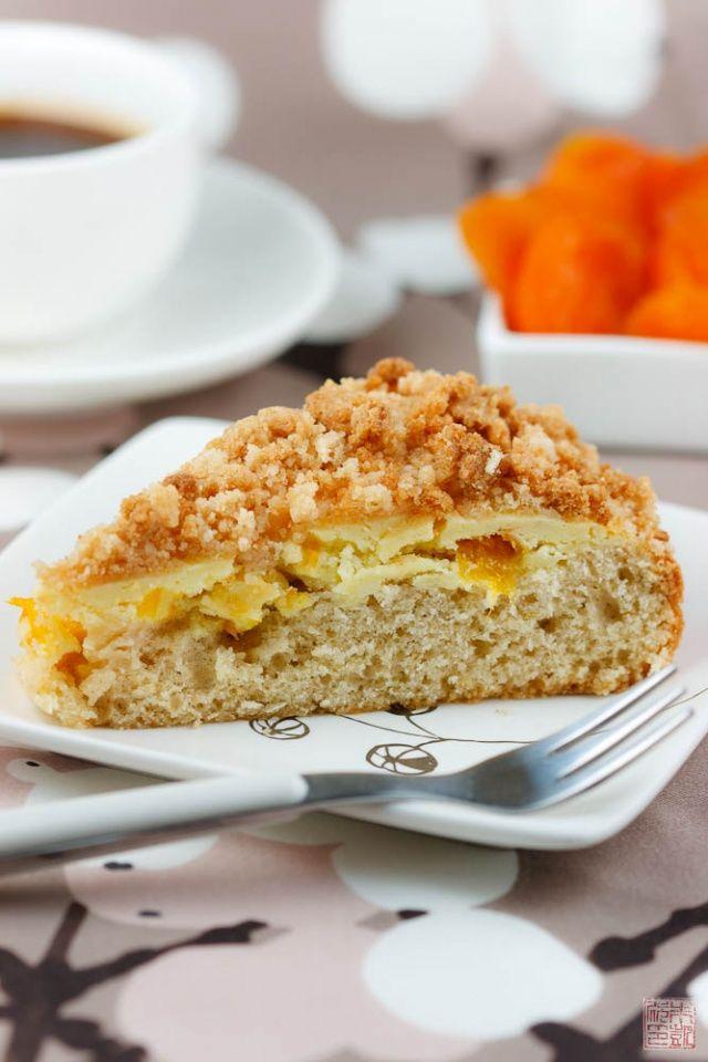 Apricot Crumb Coffee Cake