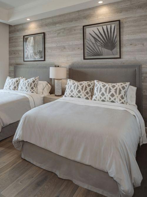Die besten 25+ Weiß graue Schlafzimmer Ideen auf Pinterest - schlafzimmer deko wei