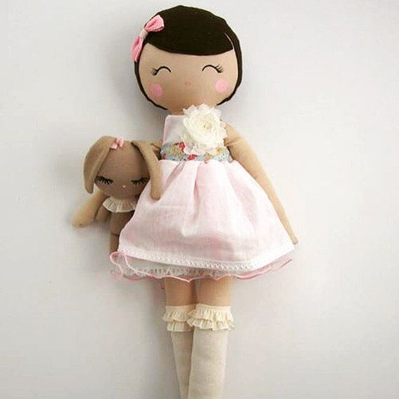 Mend Custom Order Rag Doll by MendbyRubyGrace on Etsy