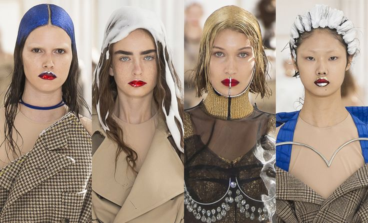 Пэт Макграт умеет приковывать внимание к макияжу и заставлять зрителей рассматривать его внимательнее, чем саму коллекцию