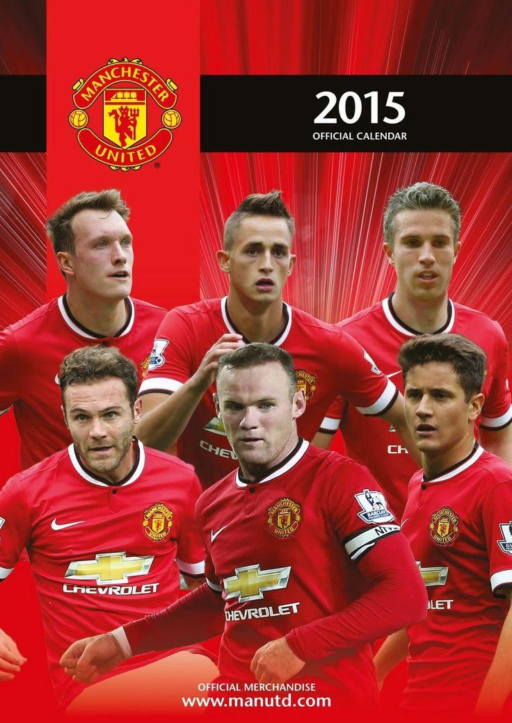 2015 Manchester United Calendar | Find out more at- http://best-calendars.blogspot.com/