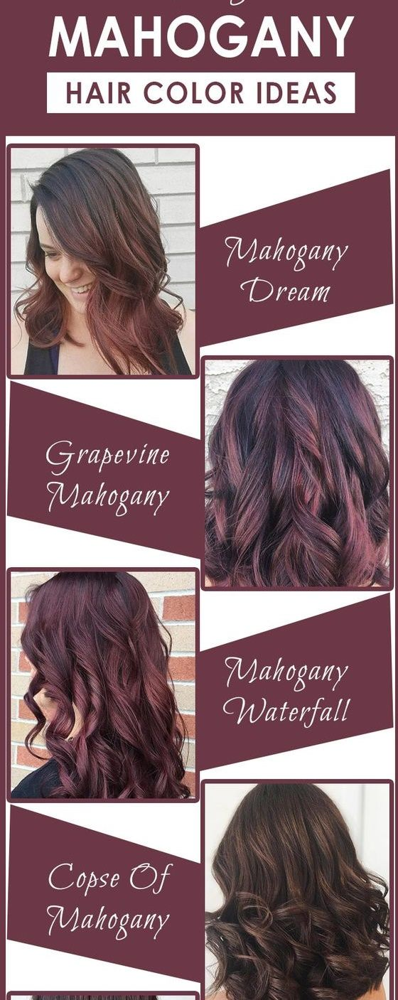 The 25 best mahogany hair colors ideas on pinterest mahogany 7 stunning mahogany hair color inspiration and idease more dark light and nvjuhfo Images