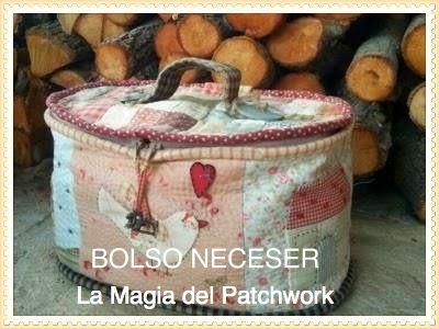 TUTORIAL BOLSO NECESER EN FOTOGRAMA | LA MAGIA DEL PATCHWORK. Paso apaso.