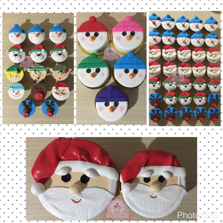 Feliz Navidad #domiciliosbogota #navidad #tortasbogota #cupcakesbogota #tortasnavidad #cupcakesnavidad #feliznavidad