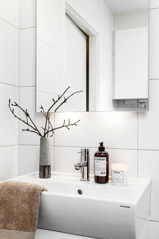 Modern bathroom decoration | Moodhouse, June 2013 [Original post in Swedish]