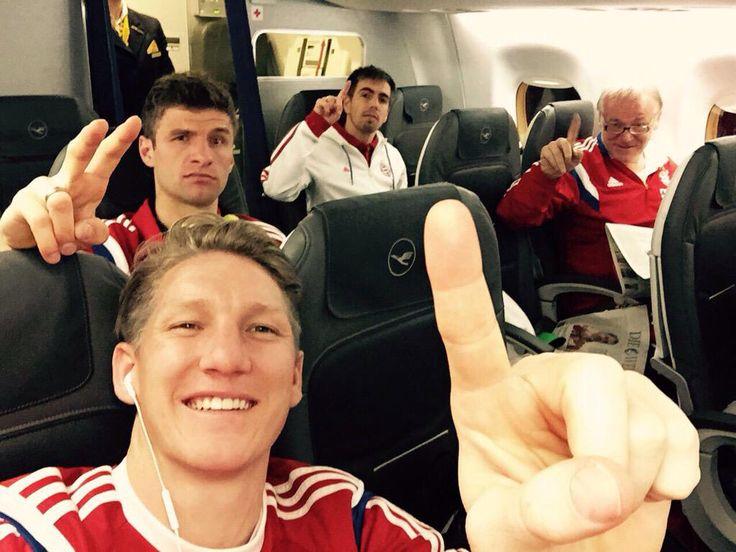 Drei Bayern, eins Tiger.. #SVWFCB #14.03.15