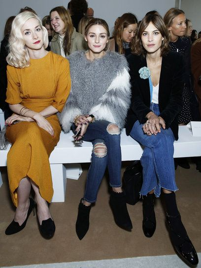 ポーシャ・フリーマン(Portia Freeman)、オリヴィア・パレルモ(Olivia Palermo)、アレクサ・チャン(Alexa Chung)