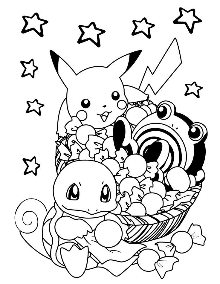 pokemon coloring pages - Coloring Page Pokemon