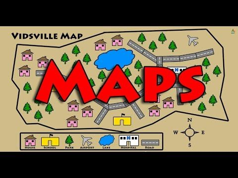 Vids4kids.tv - Learn About Maps - YouTube