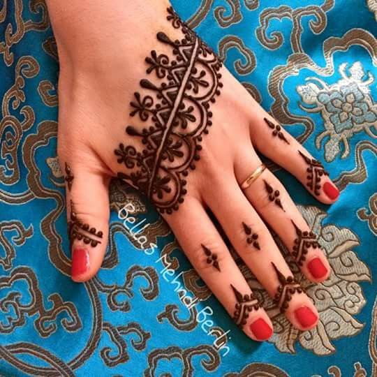 Latest Eid Mehndi Heena Designs for Hands Feet Special Collection 2015-2016 (11)