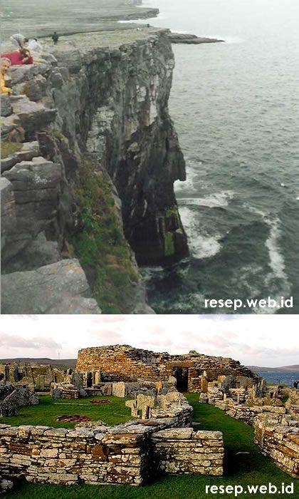 Pulau Aran dan Orkney