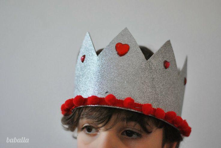 coronas para niñ@S, con patrones